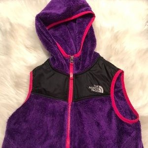 Kids The North Face Vest with hoodie
